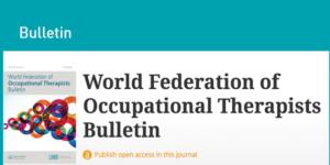 Faksimile av WFOT Bulletin